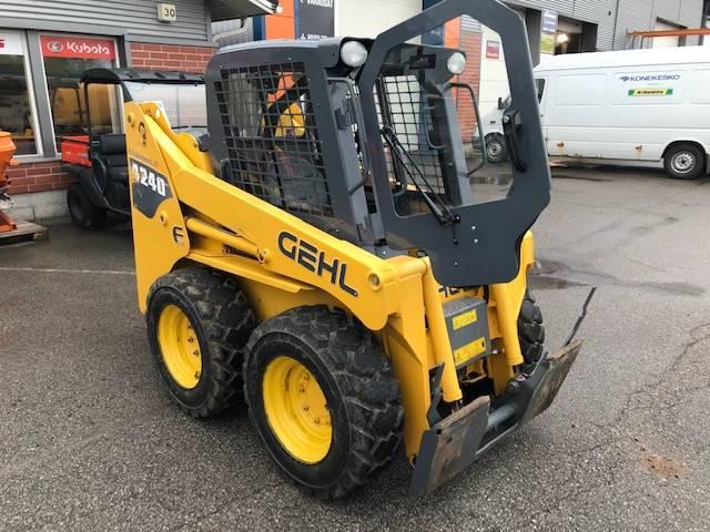 Gehl 4240 E, Skid steer loaders, Construction