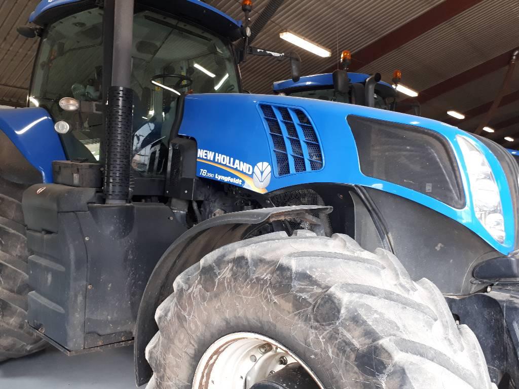 New Holland T 8.390 PC, Traktorer, Landbrug