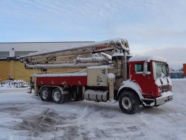 Schwing 2525H-6 / 39X, Boom Pumps, Construction Equipment