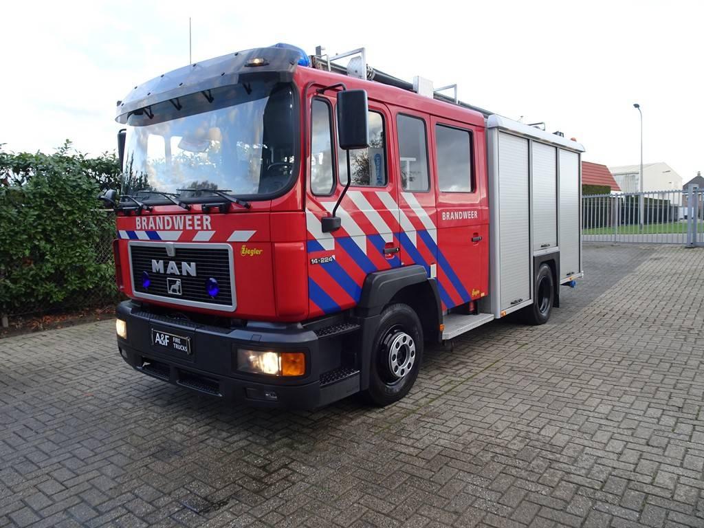 MAN 14-224 Ziegler, Löschfahrzeuge, LKW/Transport