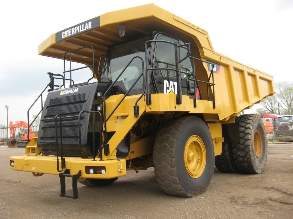 Caterpillar 775F  H314, Rigid dump trucks, Construction Equipment