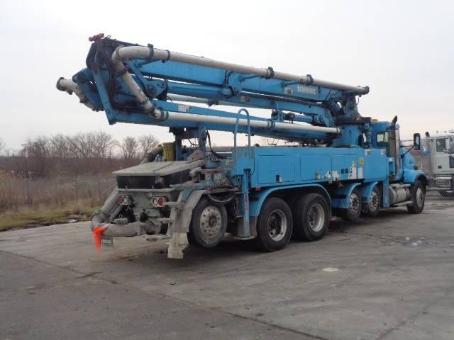 Schwing 34M, Boom Pumps, Construction Equipment