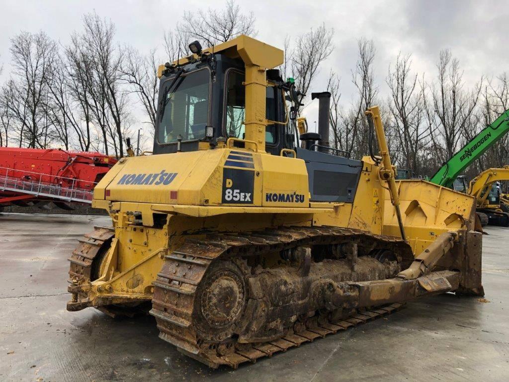 Komatsu D85EX-15E0, Crawler dozers, Construction Equipment