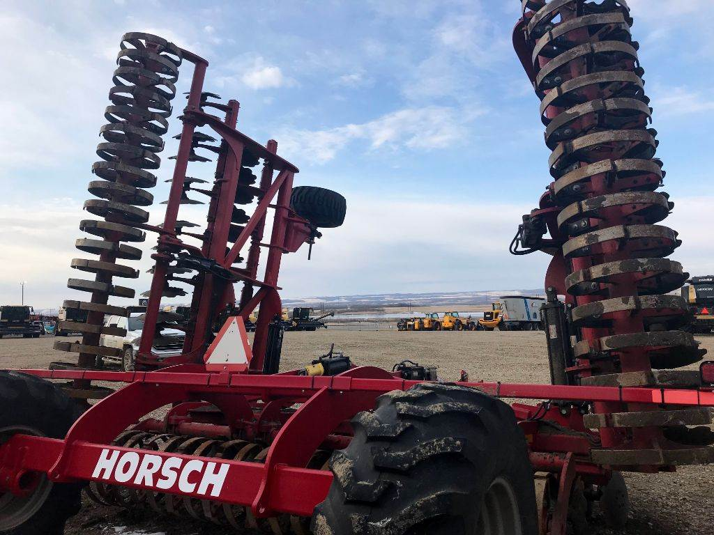 Horsch RT370, Disc Harrows, Agriculture