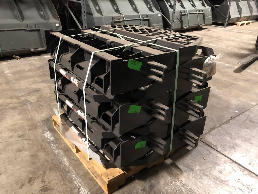 Bradco Pallet Fork Frame, Skid Steer Loaders Attachments, Products