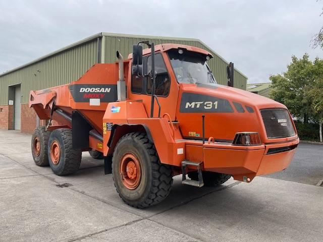 Doosan MT31, Articulated Dump Truck, Construction Equipment