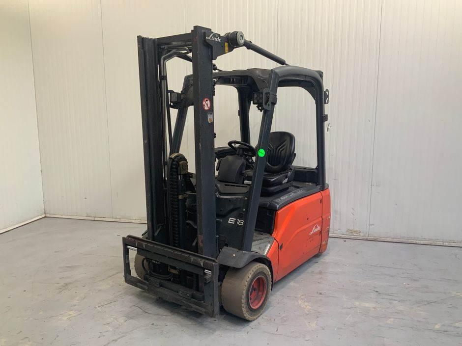 Linde E18 L 386 Serie, Electric Forklifts, Material Handling