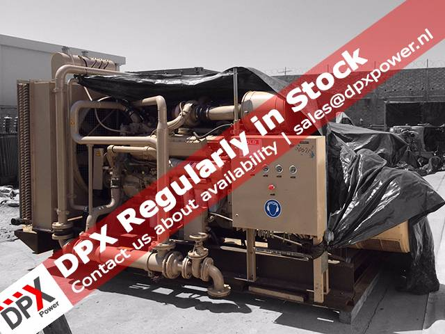 Cummins VTA17 Generatorset, Diesel generatoren, Bouw