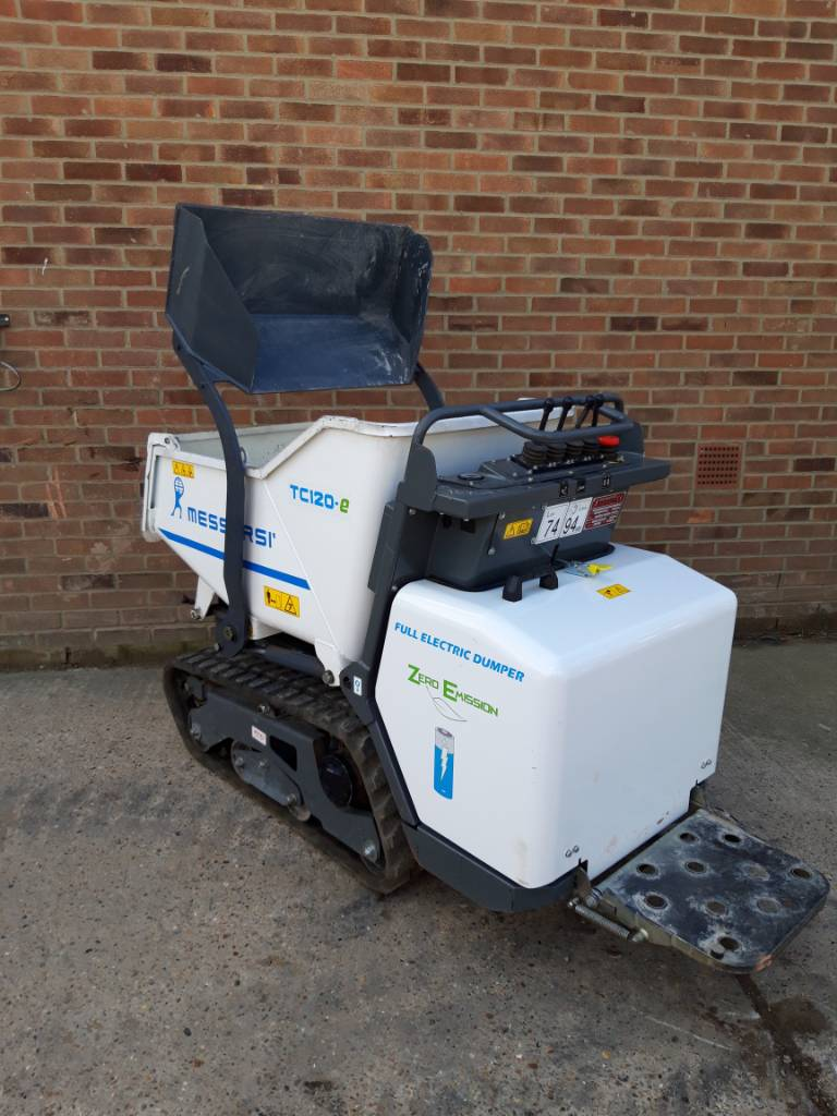 Messersi TC120e Fully Electric 1.2tonne Tracked Dumper, Tracked dumpers, Construction