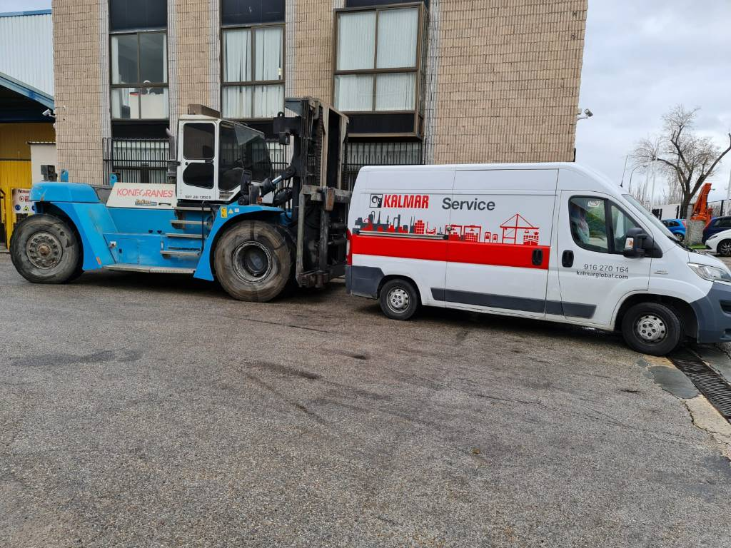 Konecranes SMV28-1200B, Diesel trucks, Material Handling
