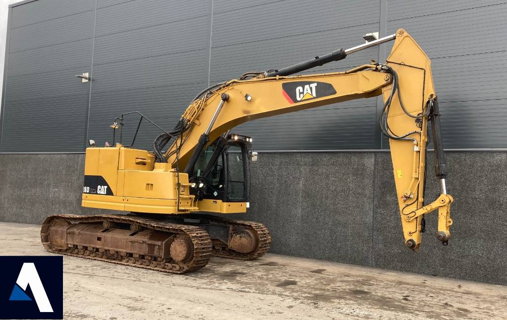 Caterpillar 328 D, Crawler Excavators, Construction Equipment