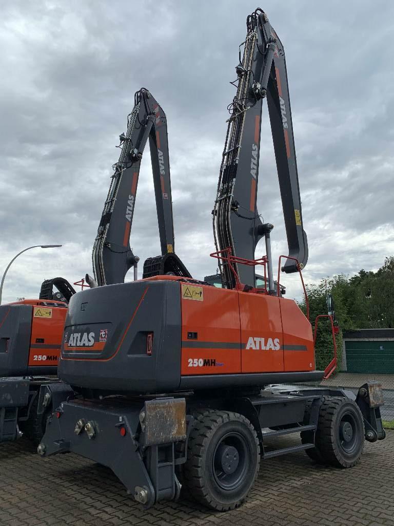 Atlas 250MH Industriebagger, Materialumschlag, Baumaschinen
