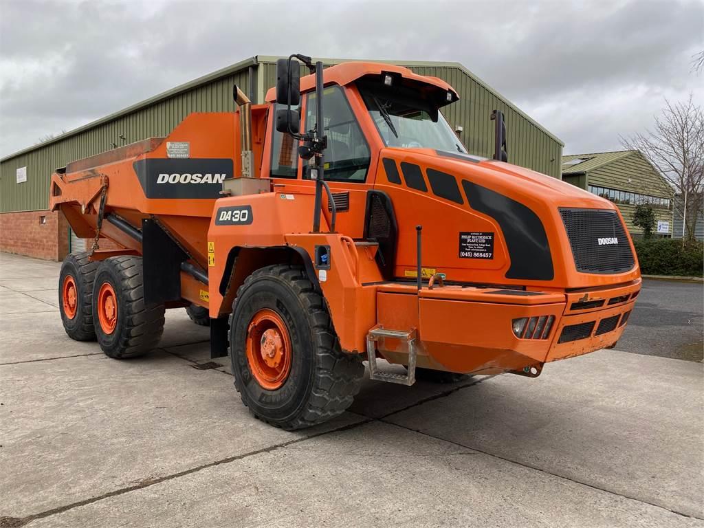 Doosan DA 30, Articulated Dump Truck, Construction Equipment