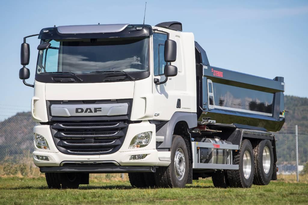 DAF CF 410 FAS Dumper - Nordic Edition, Sora- ja kippiautot, Kuljetuskalusto