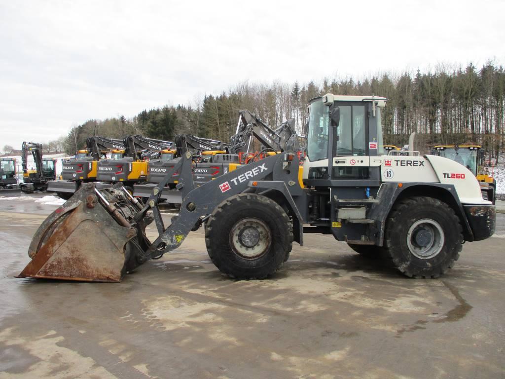 Terex TL 260, Wheel Loaders, Construction Equipment