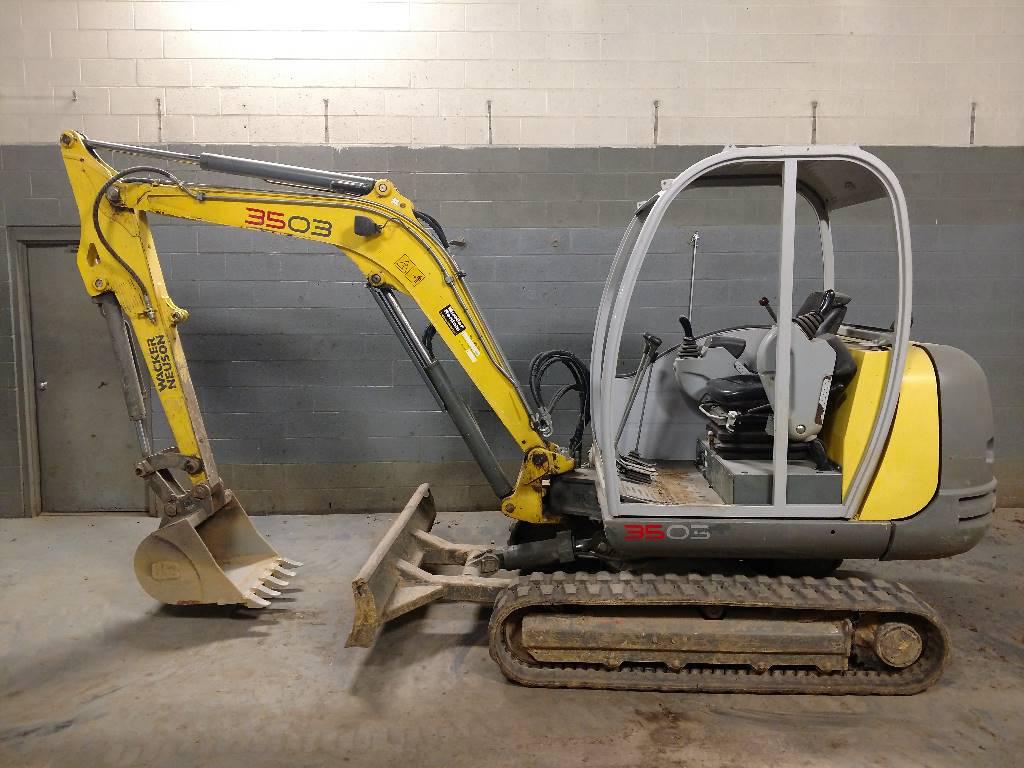 Wacker Neuson 3503, Tracked / Mini excavators, Construction Equipment