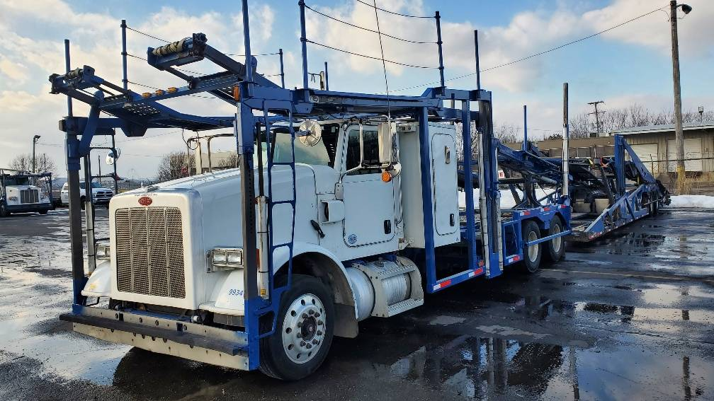 9934- Modified Sleeper Peterbilt 365- Modified Sleeper, Car Haulers, Trucks and Trailers