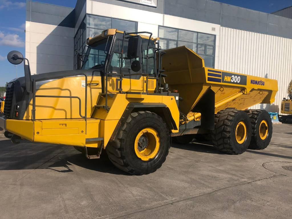 Komatsu HM300-3, Articulated dump trucks, Construction Equipment
