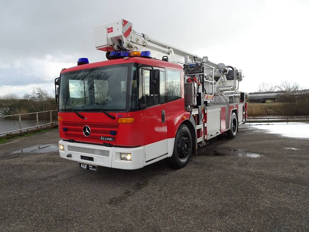 Mercedes-Benz Econic   aerial platform, Fire trucks, Transportation