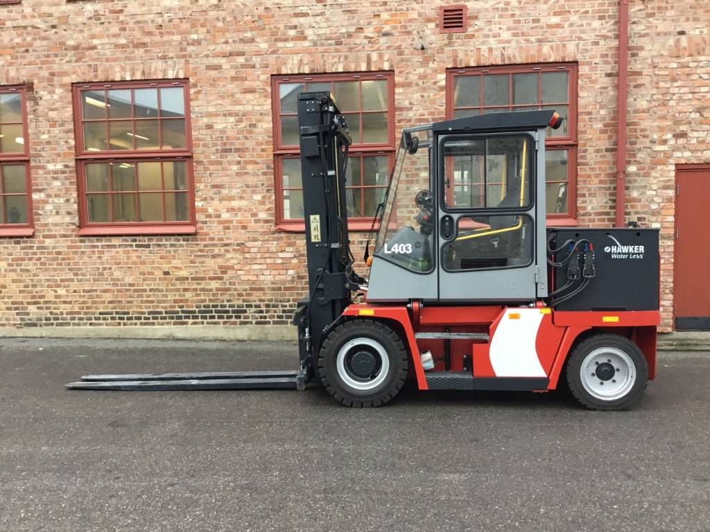 Kalmar ECE50-6, Electric forklift trucks, Material Handling