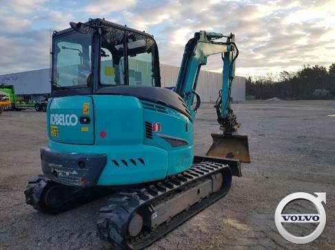 Kobelco SK 55 SRX-6, Mini Excavators <7t (Mini Diggers), Construction Equipment