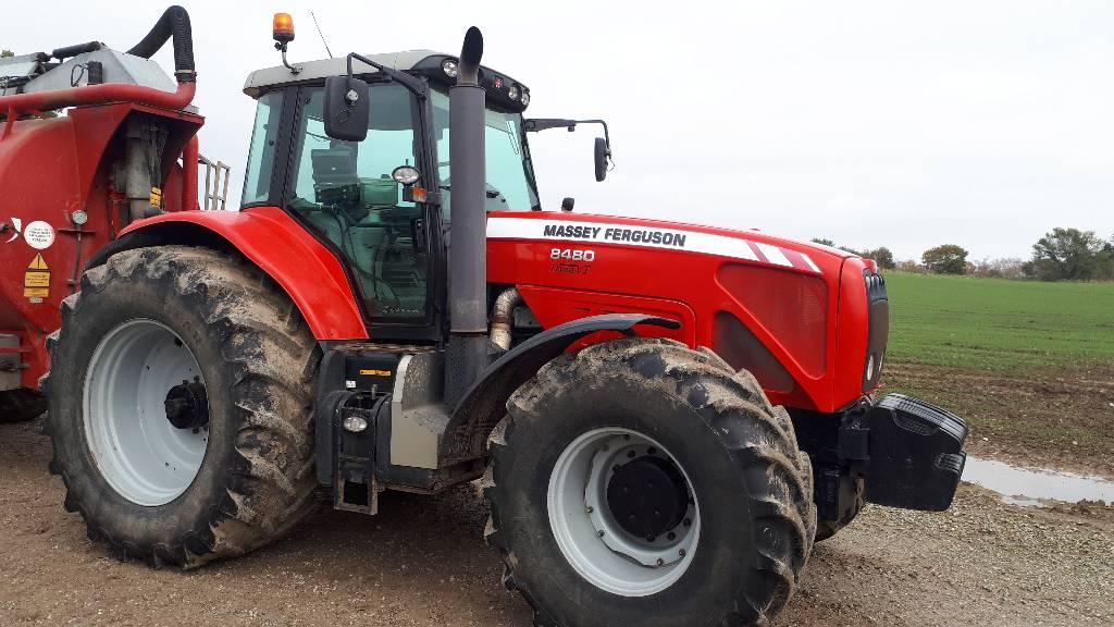 Massey Ferguson 8480 Dyna VT, Traktorer, Landbrug