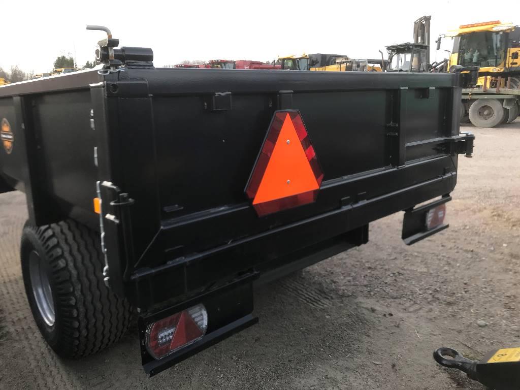 Palms Dumpervagn D600, Tipptrailer, Transportfordon