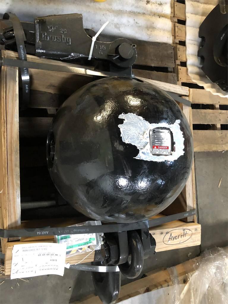Manitowoc 15 Ton Headache Ball, Crane Parts and Equipment, Construction Equipment