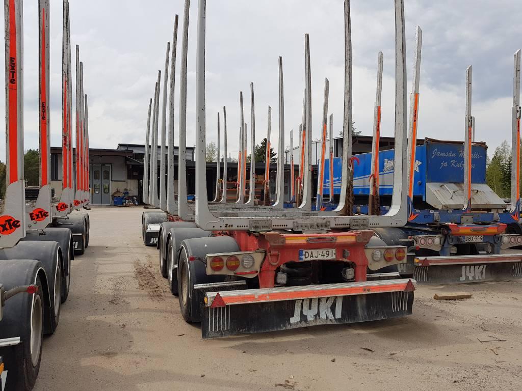 Jyki V 52 TO, Puuperävaunut, Kuljetuskalusto