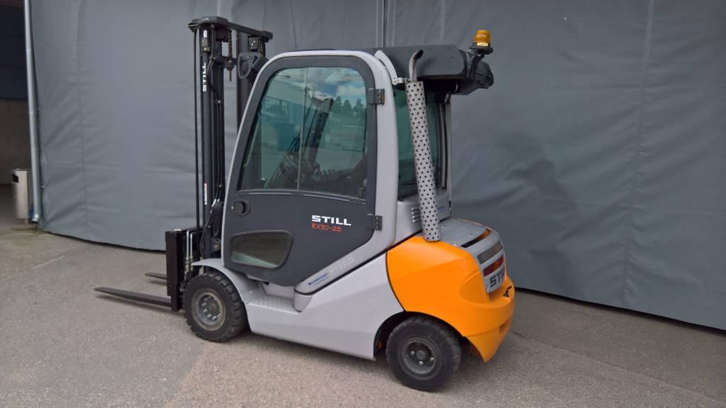 Still ICB RX70-25, Dieseltrukit, Materiaalinkäsittelykoneet