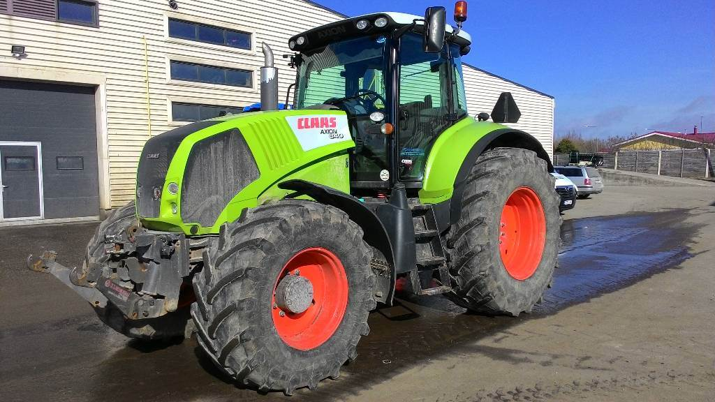 CLAAS Axion 840 Cebis, Traktorid, Põllumajandus