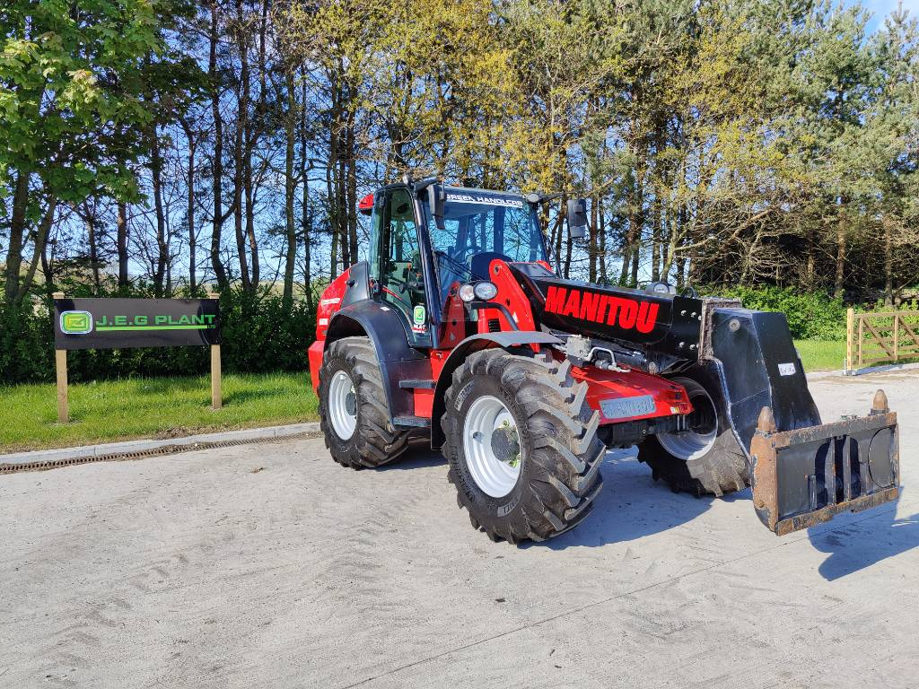 Manitou MLA-T 533 145V+D STA S1, Telehandlers for agriculture, Agriculture
