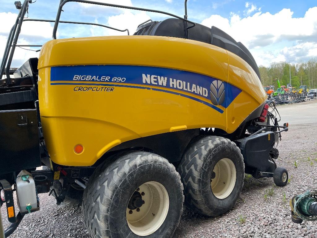 New Holland BB 890 RC, Fyrkantspressar, Lantbruk