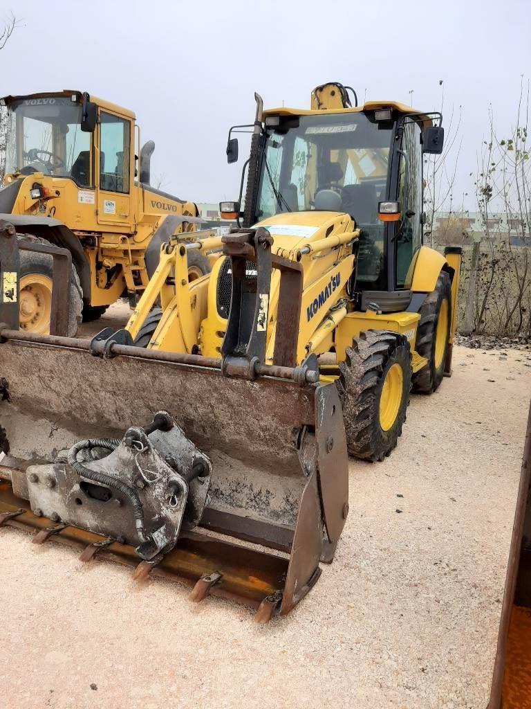 Komatsu WB93R-5, Backhoe Loaders, Construction Equipment