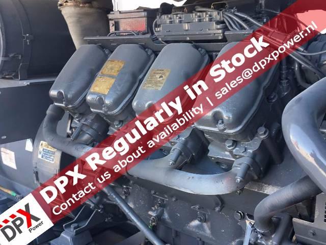 Scania DC16 Generatorset, Diesel generatoren, Bouw
