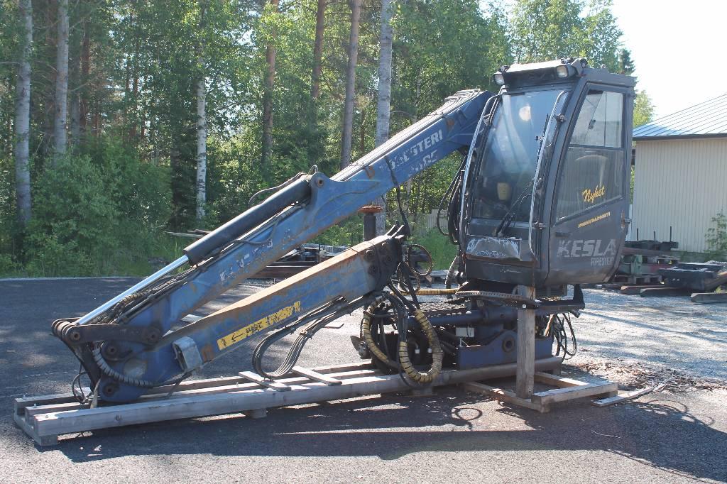 Kesla 2009 T, Puutavaranosturit, Kuljetuskalusto