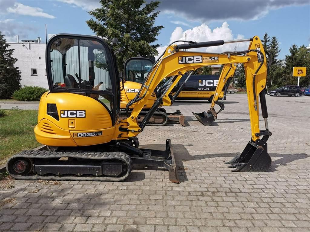 JCB 8035 ZTS, Mini koparki, Maszyny budowlane