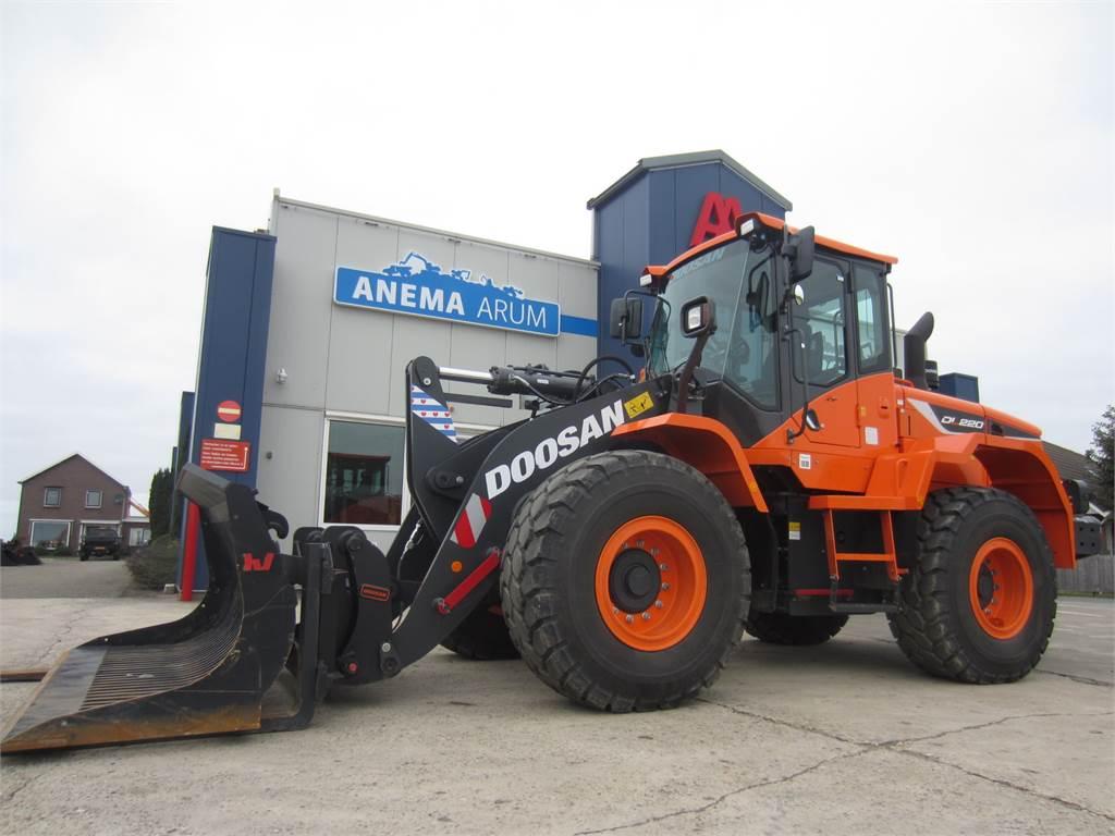 Doosan DL220-5, Wheel Loaders, Construction Equipment