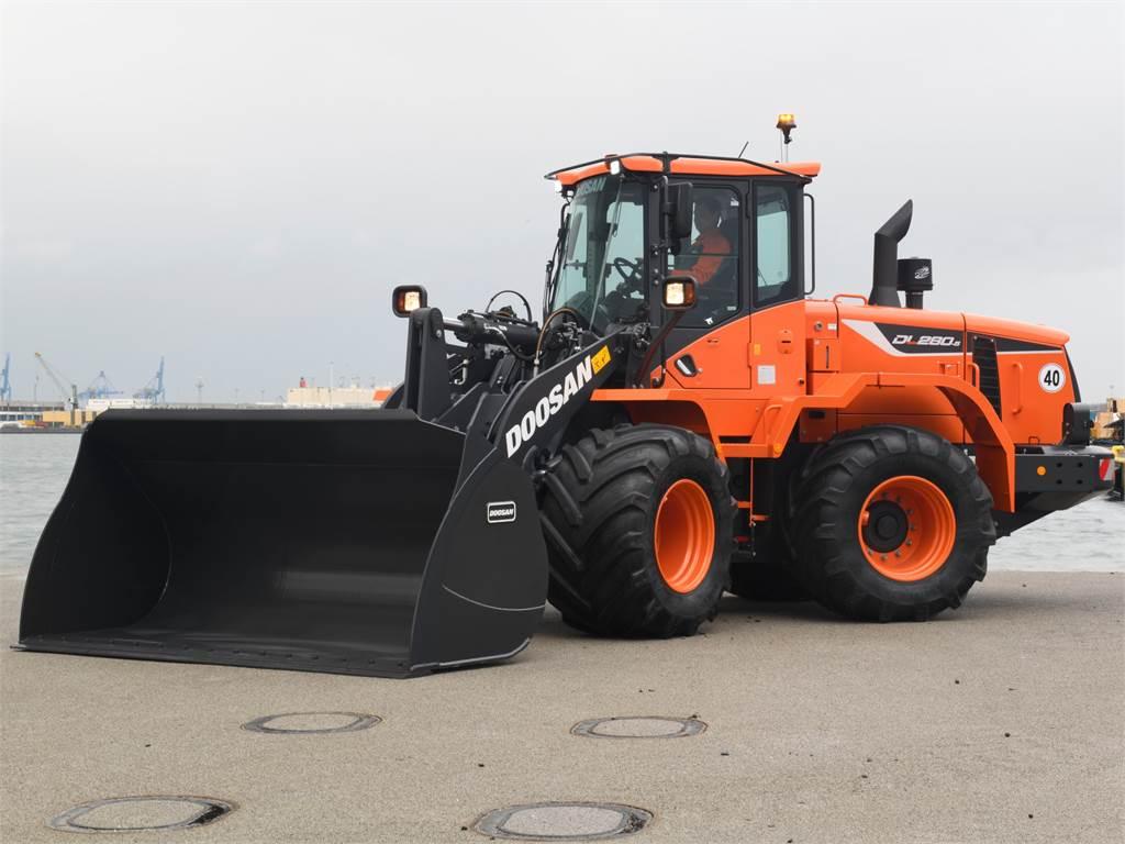 Doosan DL280-5, Wheel Loaders, Construction Equipment