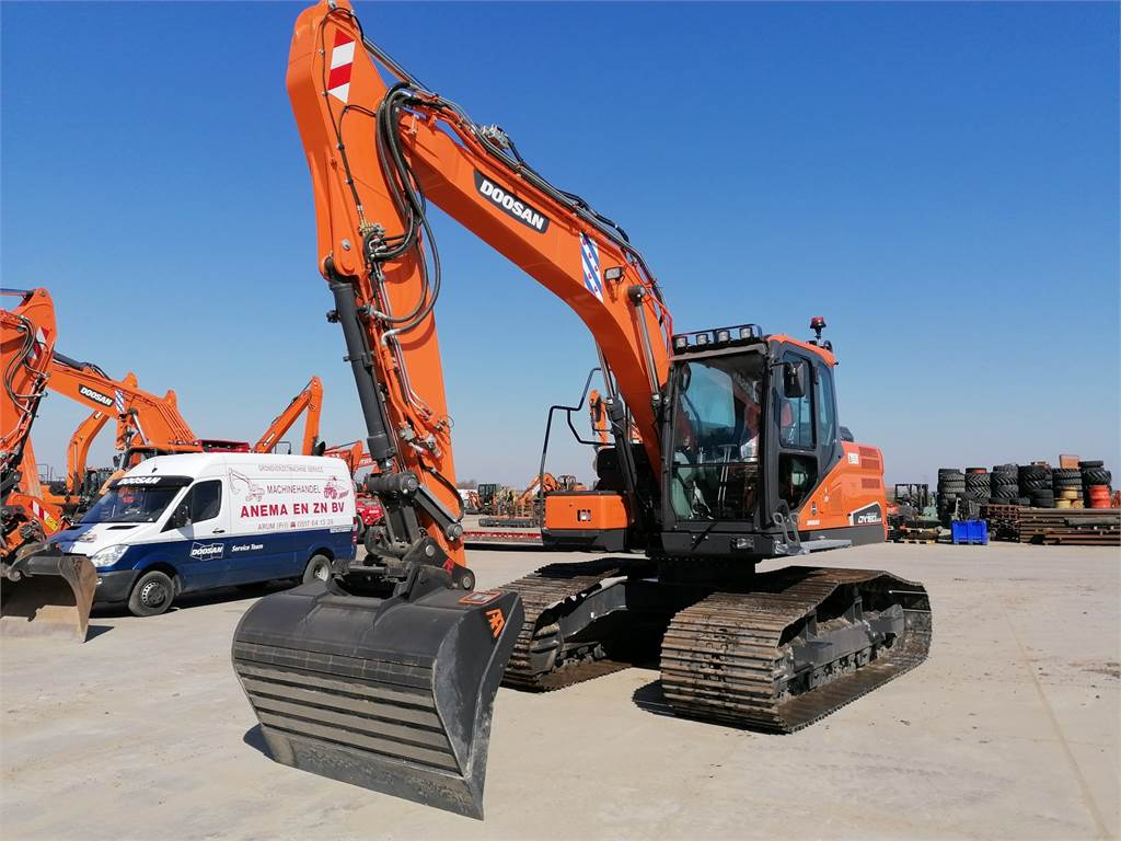 Doosan DX160LC-5, Crawler Excavators, Construction Equipment