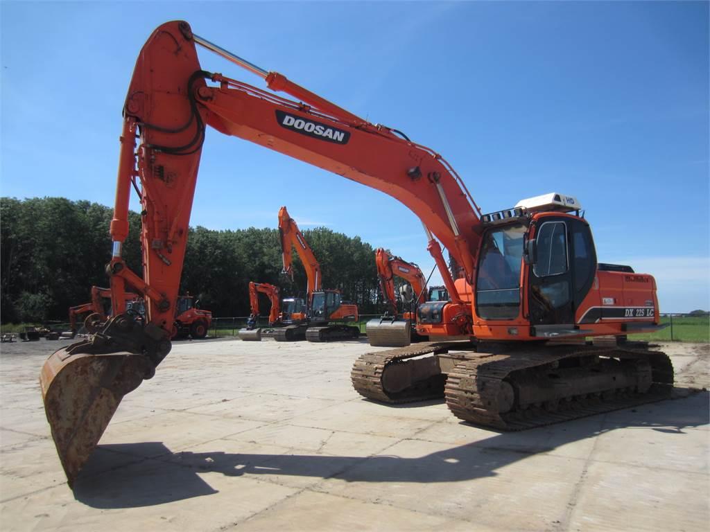 Doosan DX225LC, Crawler Excavators, Construction Equipment