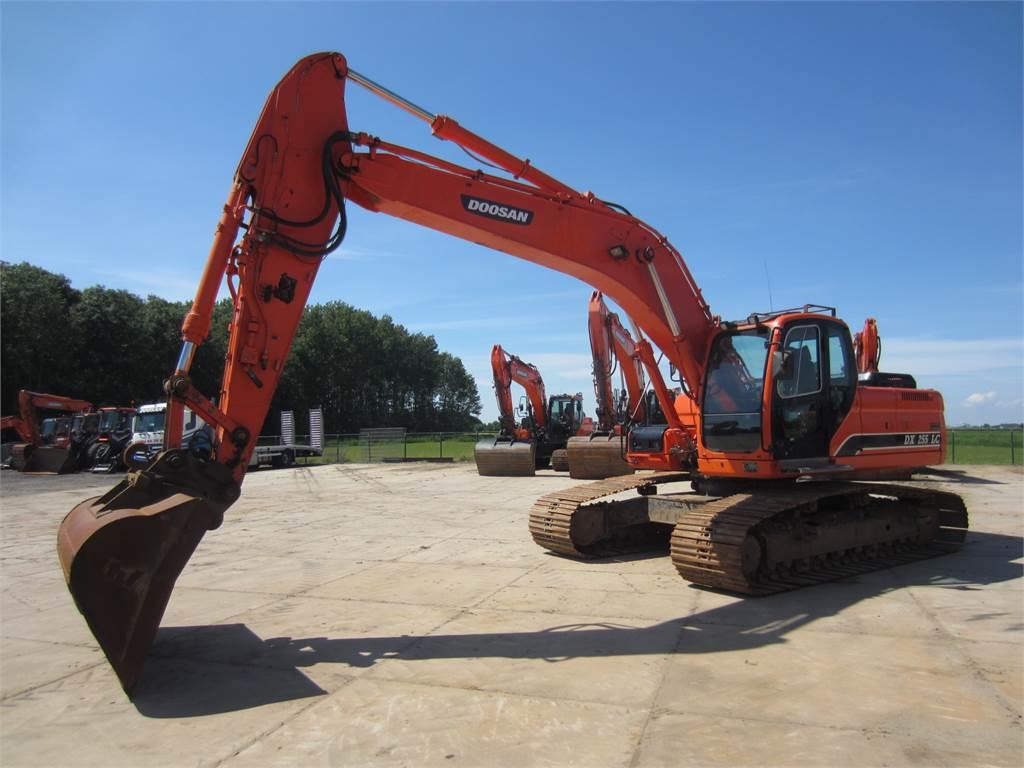 Doosan DX255LC, Crawler Excavators, Construction Equipment