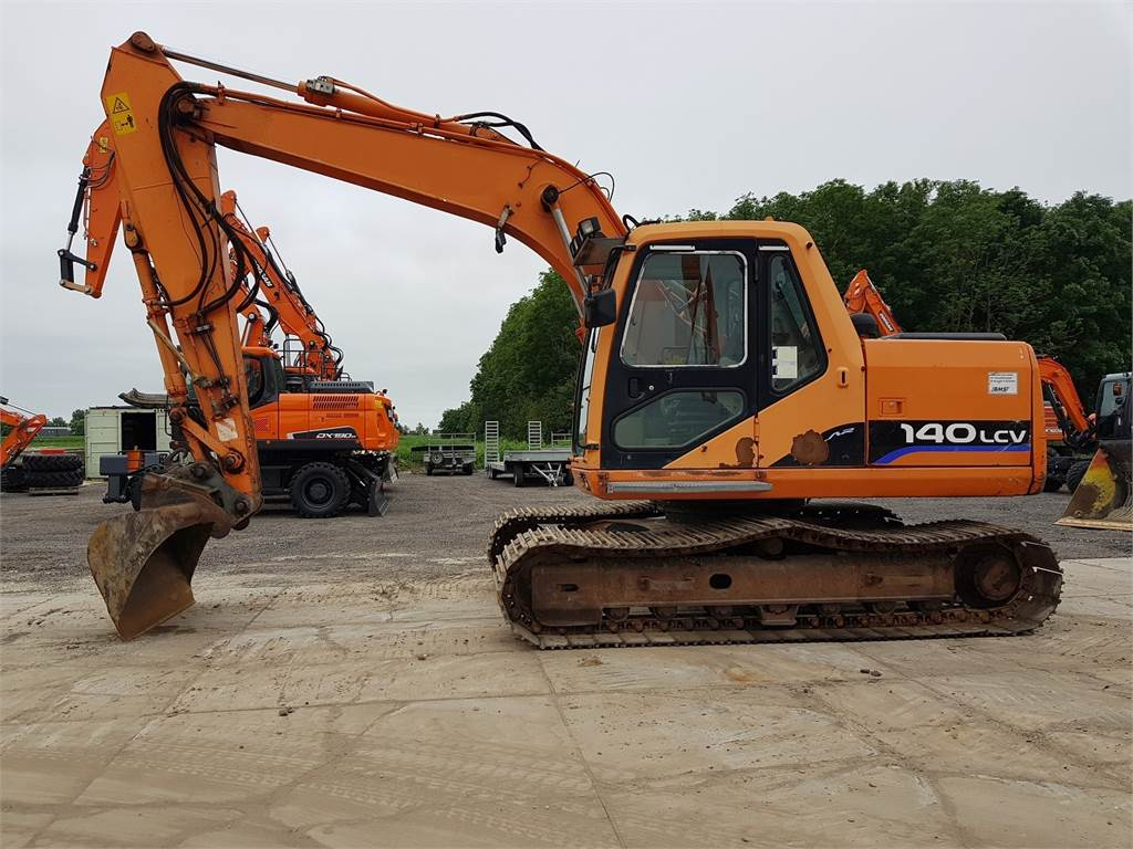 Doosan S140LC-V, Crawler Excavators, Construction Equipment
