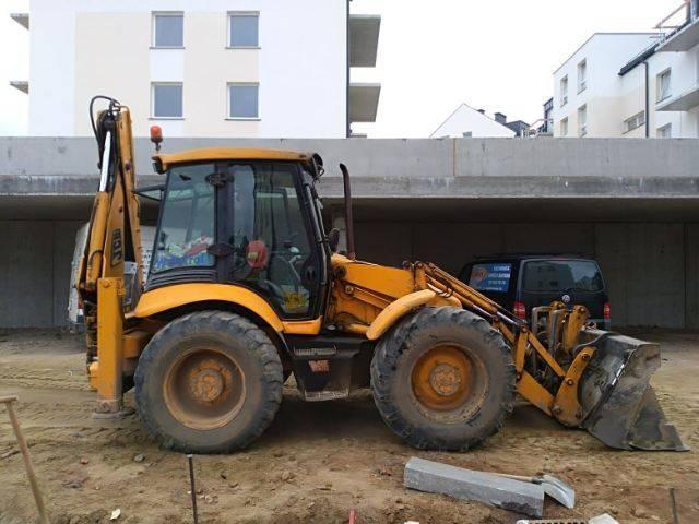 JCB 4CX, Koparko ładowarki, Maszyny budowlane