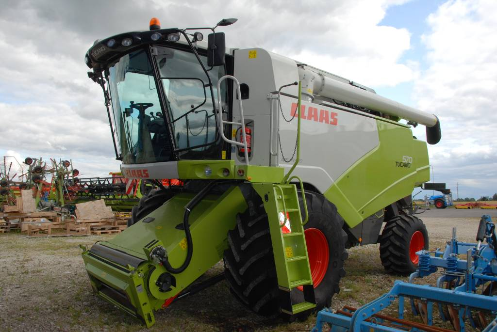 CLAAS Tucano 570, Combine harvesters, Agriculture