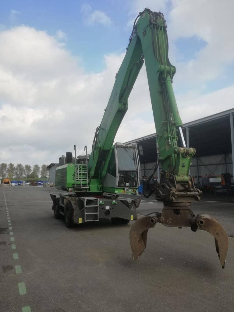 Sennebogen 821M-E, Waste / Industry Handlers, Construction Equipment