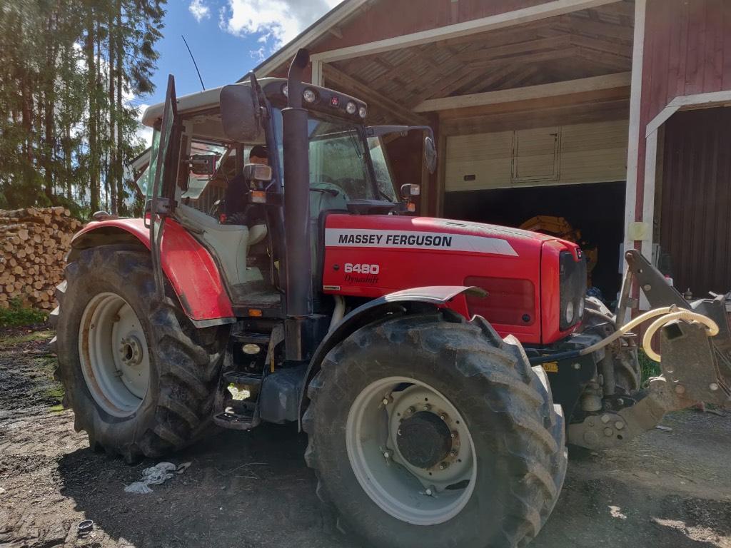 Massey Ferguson 6480 dynasift, Traktorit, Maatalous