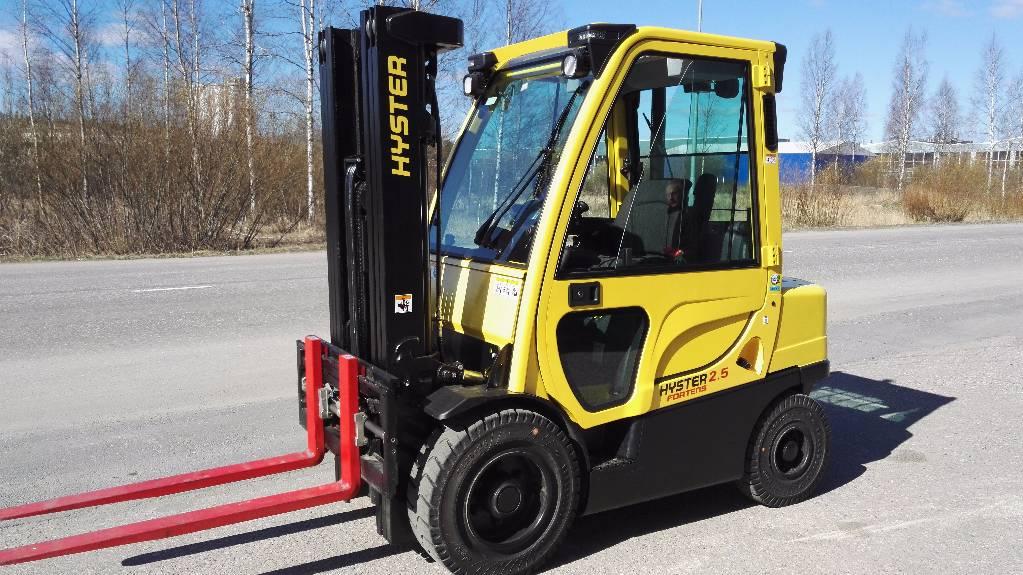 Hyster H2.5FT, Dieseltrukit, Materiaalinkäsittely