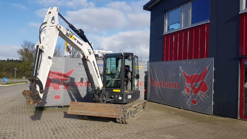 Bobcat E 50, Mini digger, Construction Equipment