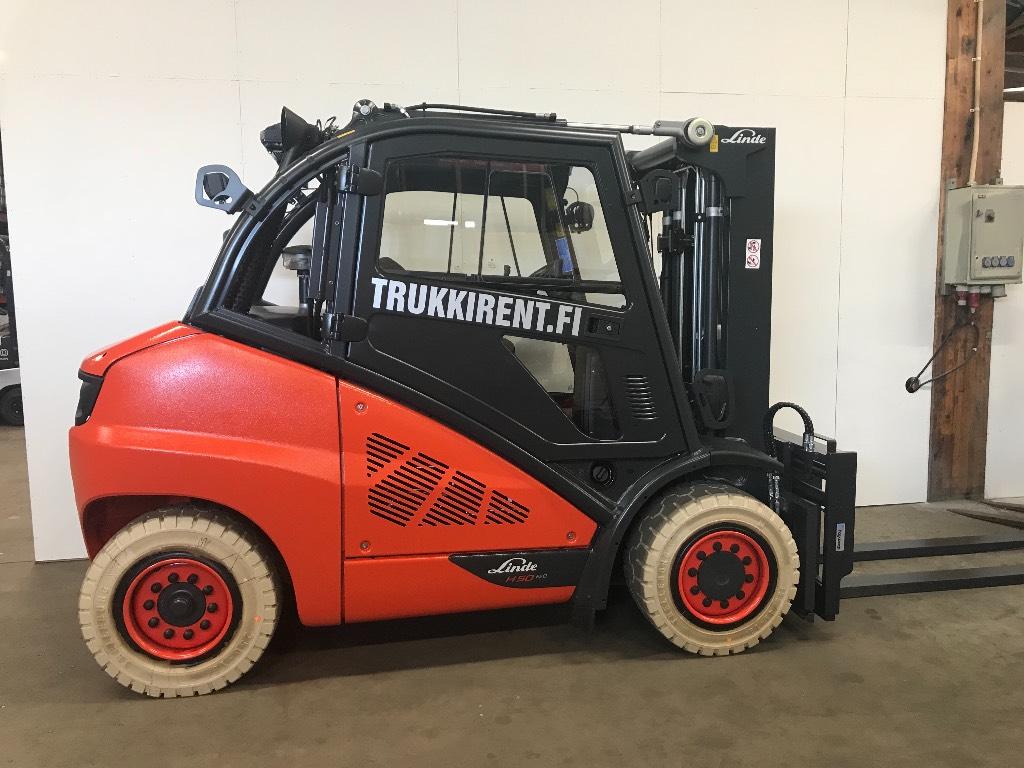Linde H50D-02, Dieseltrukit, Materiaalinkäsittely